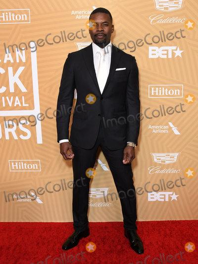 Amin Joseph Photo - 23 February 2020 - Beverly Hills California - Amin Joseph American Black Film Festival Honors Awards Ceremony held at the Beverly Hilton Hotel Photo Credit Birdie ThompsonAdMedia