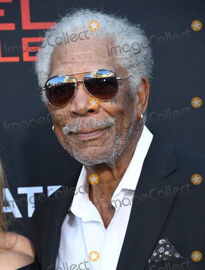 Morgan Freeman Photo - 20 August 2019 - Westwood California - Morgan Freeman Angel Has Fallen Los Angeles Premiere held at Regency Village Theater Photo Credit Birdie ThompsonAdMedia
