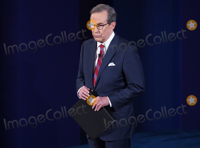 Presidential Campaign Photo - Moderator Chris Wallace arrives for the first of three scheduled 90 minute presidential debates between President Donald Trump and Democratic presidential nominee Joe Biden in Cleveland Ohio on Tuesday September 29 2020 Credit Kevin Dietsch  Pool via CNPAdMedia