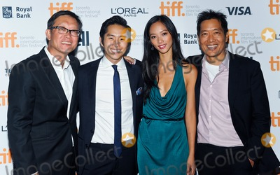 Andrew Lau Photo - 10 September 2014 - Toronto Canada - Andrew Lau Justin Chon and Shuya Chang and Andrew Loo  Revenge Of The Green Dragons Premiere during the 2014 Toronto International Film Festival held at the Ryerson Theatre Photo Credit Brent PerniacAdMedia