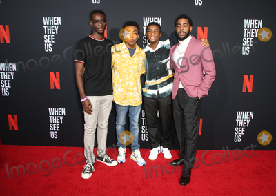 Ethan Herisse Photo - 11 August 2019 - Los Angeles California - Ethan Herisse Asante Blackk Caleel Harris Jharrel Jerome When They See Us for your consideration Los Angeles 2019 - Day 1 held at Paramount Theatre Photo Credit FSadouAdMedia