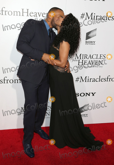 Meagan Good Photo - 09 March 2016 - Hollywood California - DeVon Franklin Meagan Good Miracles From Heaven Los Angeles Premiere held at ArcLight Hollywood Photo Credit SammiAdMedia