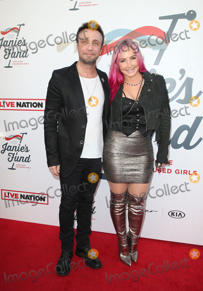 Nikki Lund Photo - LOS ANGELES CA - JANUARY 28 Larry Rudolph Nikki Lund at Steven Tyler and Live Nation presents Inaugural Janies Fund Gala  GRAMMY Viewing Party at Red Studios in Los Angeles California on January 28 2018 Credit Faye SadouMediaPunch