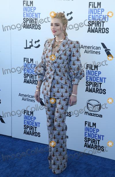 Amber Heard Photo - 8 February 2020 - Santa Monica California - Amber Heard 2020 Film Independent Spirit Awards held at Santa Monica Pier Photo Credit FSAdMedia
