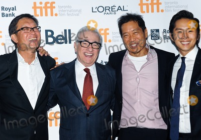 Andrew Lau Photo - 10 September 2014 - Toronto Canada - Andrew Lau Martin Scorsese Andrew Loo Justin Chon Revenge Of The Green Dragons Premiere during the 2014 Toronto International Film Festival held at the Ryerson Theatre Photo Credit Brent PerniacAdMedia