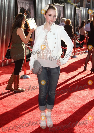 Audrey Whitby Photo - 2 October 2011 - Hollywood California - Audrey Whitby Real Steel Los Angeles Premiere Held at A Universal City Walk Cinemas Photo Credit Kevan BrooksAdMedia