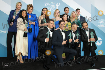 Tony Shalhoub Photo - 19 January 2020 - Los Angeles California - Caroline Aaron Jane Lynch Stephanie Hsu Marin Hinkle Rachel Brosnahan Alex Borstein and Matilda Szydagis Kevin Pollak Tony Shalhoub Michael Zegen Luke Kirby The Marvelous Mrs Maisel Cast 26th Annual Screen Actors Guild Awards held at The Shrine Auditorium Photo Credit AdMedia