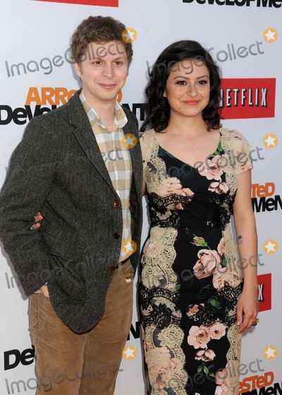 Alias Photo - 29 April 2013 - Hollywood California - Michael Cera Alia Shawkat Arrested Development Season 4 Los Angeles Premiere held at the TCL Chinese Theatre Photo Credit Byron PurvisAdMedia