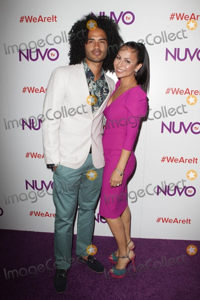 Anjelah Johnson Photo - 16 July 2013 - West Hollywood California - Anjelah Johnson Manwell Reyes NUVOtv Network Launch Party Held At The London West Hollywood Photo Credit Kevan BrooksAdMedia