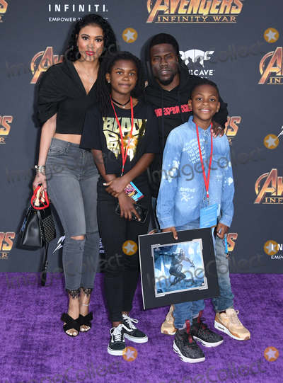 Kevin Hart Photo - 23 April 2018 -  Hollywood California - Kevin Hart Disney and Marvels Avengers Infinity War Los Angeles Premiere held at Dolby Theater Photo Credit Birdie ThompsonAdMedia