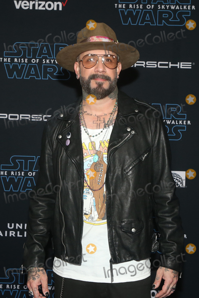 AJ MCLEAN Photo - 16 December 2019 - Hollywood California - AJ McLean Premiere Of Disneys Star Wars The Rise Of Skywalker  held at El Capitan theatre Photo Credit FSAdMedia