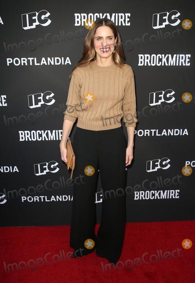Amanda Peet Photo - 15 May 2018-  North Hollywood California - Amanda Peet IFC Hosts Brockmire And Portlandia EMMY FYC Red Carpet Event held at Saban Media Center Photo Credit Faye SadouAdMedia