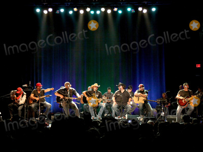 Rhett Akins Photo - August 16 2011 - Athens GA - (l-r) Mike Dekle Dallas Davidson James Otto Jason Aldean Cold Ford Rhett Akins and Edwin McCain Country artist Colt Ford rounded up his songwriter and artist friends to hold a benefit for the family of Elmer Buddy Christian an Athens Police Officer who died in the line of duty  On hand were Jason Aldean Edwin McCain Rhett Akins Dallas Davidson James Otto Rachel Farley Corey Smith Brantley Gilbert and Mike Dekel The performance was held for a packed house at the reconstructed and recently reopened Georgia Theater Photo credit Dan HarrAdMedia