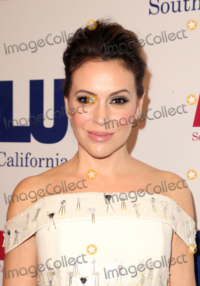 Alyssa Milano Photo - 11 November 2018-  Beverly Hills California - Alyssa Milano The ACLU of Southern Californias annual ACLU Bill of Rights Dinner held at The Beverly Wilshire Four Seasons Hotel Photo Credit Faye SadouAdMedia