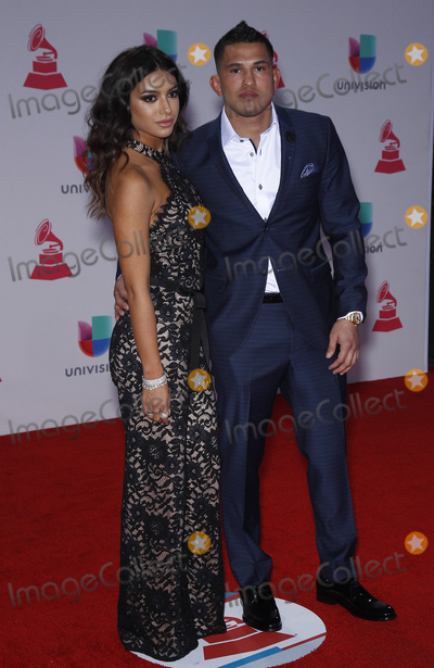 Anthony Pettis Photo - 19 November 2015 - Las Vegas NV - Anthony Pettis  2015 Latin Grammy Awards arrivals at MGM Grand Garden Arena Photo Credit MJTAdMedia