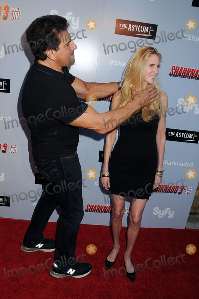 Ann Coulter Photo - 22 July 2015 - Westwood California - Lou Ferrigno Ann Coulter Sharknado 3 Oh Hell No Los Angeles Premiere held at iPic Theaters Photo Credit Byron PurvisAdMedia