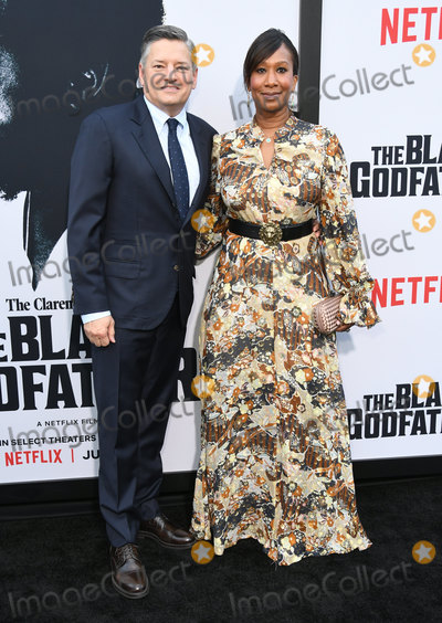 Nicole Avant Photo - 03 June 2019 - Los Angeles California - Ted Sarandos Nicole Avant Netflixs The Black Godfather Los Angeles Premiere held at Paramount Theater Photo Credit Birdie ThompsonAdMedia