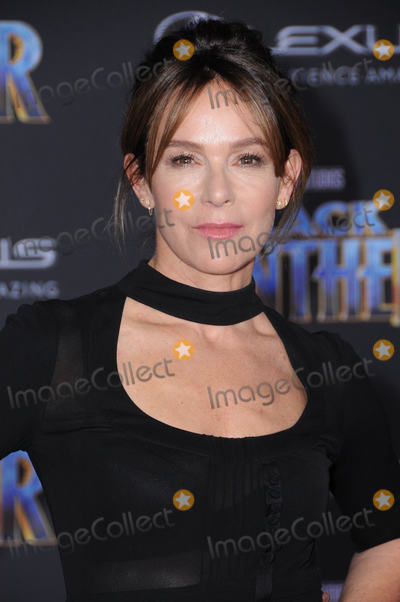 Jennifer Grey Photo - 29 January 2018 - Hollywood California - Jennifer Grey Marvel Studios Black Panther World Premiere held at Dolby Theater Photo Credit Birdie ThompsonAdMedia