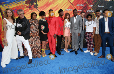 Amine Photo - 8 July 2019 - Los Angeles California - Peta Sergeant Alon Abutbul Michael Hyatt Angela Lewis Amin Joseph Isaiah John Damson Idris Carter Hudson Dave Andron The Premiere Of FXs Snowfall Season 3 held at Bovard Auditorium At USC Photo Credit Faye SadouAdMedia