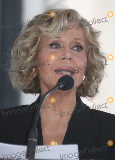 Jane Fonda Photo - 06 November 2018 - Hollywood California - Jane Fonda Michael Douglas Honored With Star On The Hollywood Walk Of Fame Photo Credit F SadouAdMedia