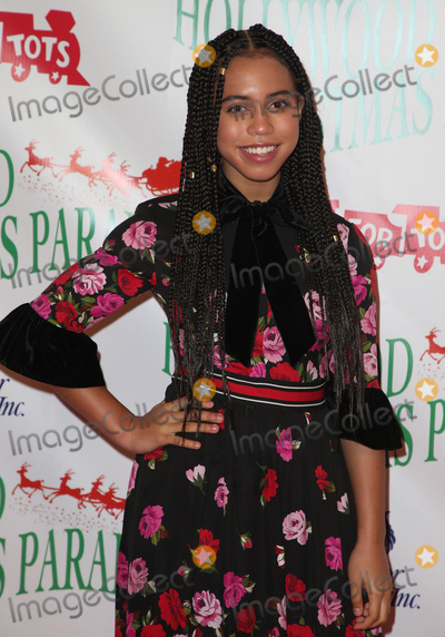 Asia Monet Photo - 26 November 2017 - Hollywood California - Asia Monet 86th Annual Hollywood Christmas Parade Photo Credit F SadouAdMedia