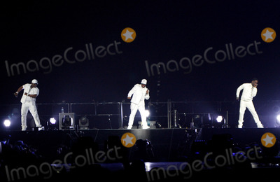 Nathan Morris Photo - June 20 2013 - Atlanta GA - Pop band Boyz II Men performed at Phillips Arena in Atlanta GA Boyz II Men 98 Degrees and New Kids On The Block are touring together as part of the Package Tour Photo credit Dan HarrAdMedia