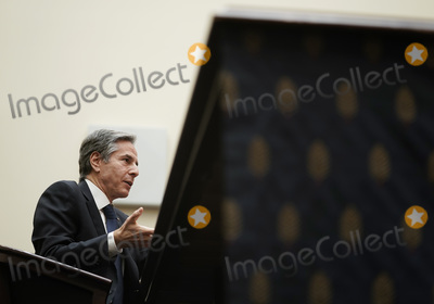 Antony Blinken Photo - United States Secretary of State Antony Blinken testifies before the House Committee on Foreign Affairs on The Biden Administrations Priorities for US Foreign Policy on Capitol Hill on Wednesday March 10 2021 in Washington DC    Credit Ken Cedeno  Pool via CNPAdMedia