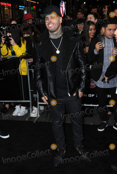 Nicky Jam Photo - 19 January 2017 - Hollywood California - Nicky Jam Los Angeles premiere of  xXx Return Of Xander Cage held at the TCL Chinese Theatre Photo Credit Birdie ThompsonAdMedia