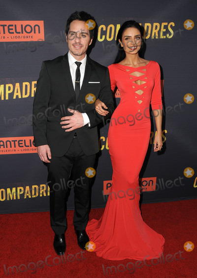 Aislinn Derbez Photo - 19 April 2016 - Hollywood California - Mauricio Ochmann Aislinn Derbez Arrivals for the Los Angeles premiere of Compadres held at ArcLight Hollywood Photo Credit Birdie ThompsonAdMedia