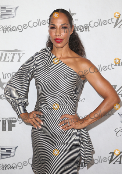 Amanda Brugel Photo - 15 September 2018 - West Hollywood California - Amanda Brugel Variety and Women in Film 2018 Television Nominees Celebration sponsored by Cadillac and Heineken held at Cecconis Photo Credit Faye SadouAdMedia