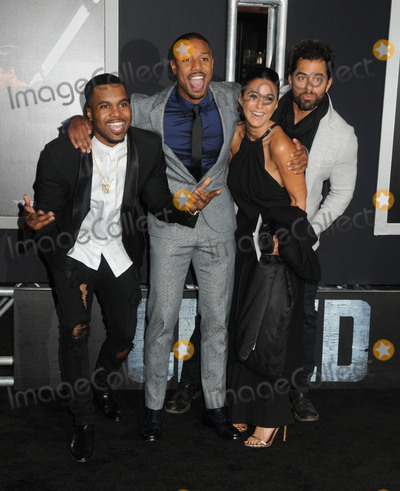 Adrian Bellani Photo - 19 November 2015 - Westwood California - Sterling Brim Michael B Jordan Emmanuelle Chriqui Adrian Bellani Creed Los Angeles Premiere held at the Regency Village Theatre Photo Credit Byron PurvisAdMedia