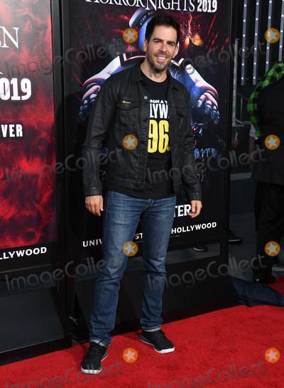 Eli Roth Photo - 12 September 2019 - Universal City California - Eli Roth Universal Studios Halloween Horror Nights 2019 held at Universal Studios Photo Credit Birdie ThompsonAdMedia