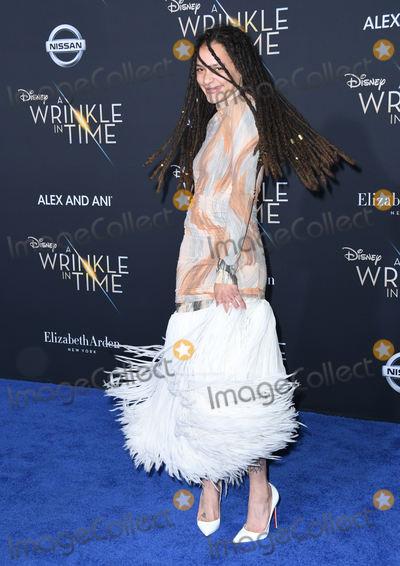 Sasha Lane Photo - 26 February 2018 - Hollywood California - Sasha Lane Disneys A Wrinkle In Time World Premiere held at El Capitan Theatre Photo Credit Birdie ThompsonAdMedia