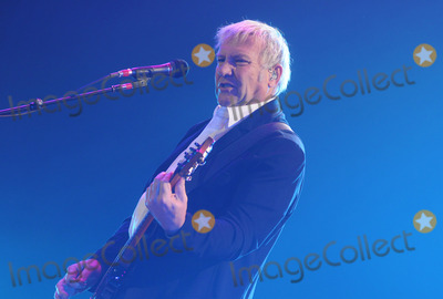 Alex Lifeson Photo - 19 April 2011 - Hamilton Ontario Canada - RUSH  Guitarist Alex Lifeson of RUSH performs onstage at Copps Coliseum for the Time Machine Tour Photo Credit Brent PerniacAdMedia