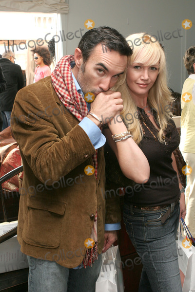 Anthony Quinn Photo - 06 August 2011 - Actor Francesco Quinn the third son of actor Anthony Quinn died at his home in Malibu on August 5 2011 reportedly from a heart attack Francesco was best known for his roles in Platoon and television series JAG and 24 File Photo 14 January 2006 -  Beverly Hills California - Francesco Quinn and wife Julie Quinn Showtime Style 2006 Retreat for the 2006 Golden Globe Awards  held at the Luxe Hotel Photo Credit Zach LippAdMedia