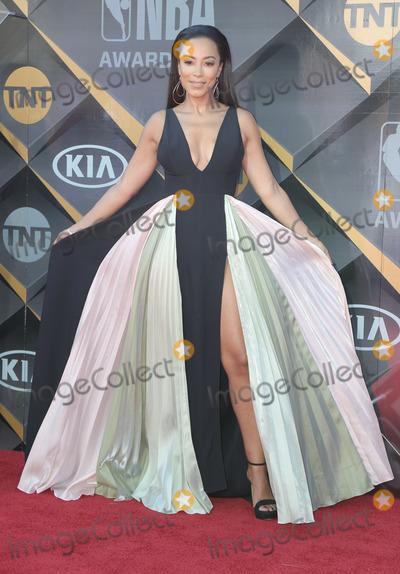 Angela Rye Photo - 25 June 2018 - Santa Monica California - Angela Rye  2018 NBA Awards held at Barker Hangar Photo Credit PMAAdMedia