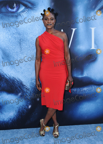 Adina Porter Photo - 12 July 2017 - Los Angeles California - Adina Porter HBOs Game of Thrones Season 7 Los Angeles Premiere held at The Music Centers Walt Disney Concert Hall in Los Angeles Photo Credit Birdie ThompsonAdMedia