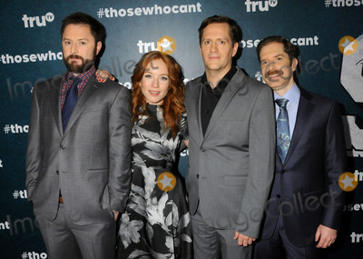 Adam Cayton-Holland Photo - 28 January 2016 - Los Angeles California - Adam Cayton-Holland Maria Thayer Ben Roy Andrew Orvedahl Those Who Cant Series Premiere held at The Wilshire Ebell Theatre Photo Credit Byron PurvisAdMedia