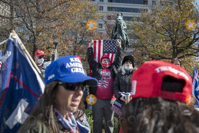 Supremes Photo - Thousands of people take part in a pro-Trump MAGA rally march on Pennsylvania Avenue Northwest from Freedom Plaza to the United States Supreme Court around in Washington DC on Saturday November 14 2020Credit Rod Lamkey  CNPAdMedia