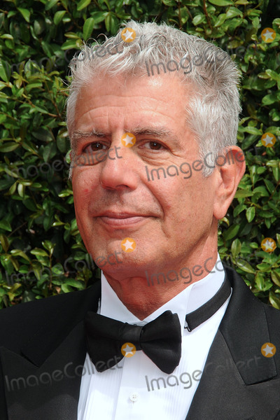 Anthony Bourdain Photo - 12 September 2015 - Los Angeles California - Anthony Bourdain 2015 Creative Arts Emmy Awards - Arrivals held at the Microsoft Theatre Photo Credit Byron PurvisAdMedia