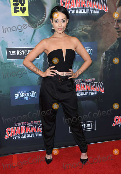 Ashley Doris Photo - 19 August 2018 - Playa Vista California - Ashley DorisThe Last Sharknado Its About Time Los Angeles Premiere held at Cinemark - Playa Vista Photo Credit Birdie ThompsonAdMedia