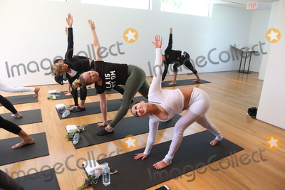 Adrienne Bailon Photo - 31 March 2017 - Beverly Hills California - Jasmine Sanders Adrienne Eliza Houghton Adrienne Bailon Draya Michele and Friends at AloYoga Photo Credit AdMedia
