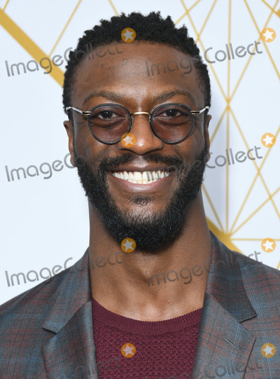 Aldis Hodge Photo - 21 September 2019 - West Hollywood California - Aldis Hodge 2019 Showtime Emmy Eve Celebration held at Poolside at The San Vincente Bungalows Photo Credit Birdie ThompsonAdMedia