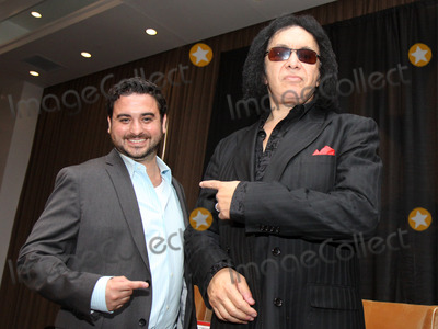 MGMT Photo - September 4 2012 - Nashville TN - Actor producer and Kiss rocker Gene Simmons along with is long-time manager Doc McGhee spoke at a private invite-only breakfast function in Nashville Simmons talked about his life with Kiss tales from the road and more McGhee talked about having managed the mega-rockers for the last 3 decades The event was emceed by Ray Waddell of Billboard Magazine Photo credit Dan Harr  AdMedia