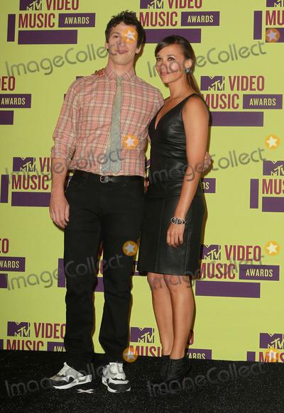 Andy Sandberg Photo - 6 September 2012 - Los Angeles California - Andy Sandberg and Rashida Jones 2012 MTV Video Music Awards held at Staples Center Photo Credit Kevan BrooksAdMedia