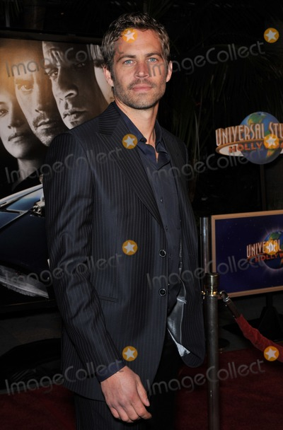 Paul Walker Photo - 30 November 2013 - Santa Clarita California - Paul Walker died at the age of 40 in a car accident while attending a charity event for his organization Reach Out Worldwide The accident occurred in Santa Clarita when Walkers Porsche lost control and crashed into a tree The car burst into flames and exploded File Photo 12 March 2009 - Universal City CA - Fast  Furious Los Angeles Premiere at the Universal City Walk Gibson Amphitheatre Photo Credit JaguarAdMedia