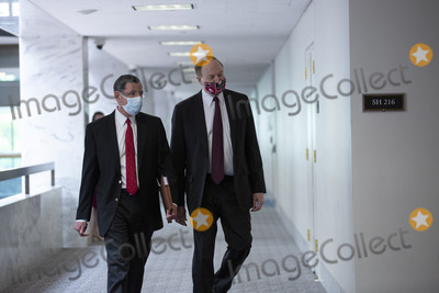 Alabama Photo - United States Senator John Barrasso (Republican of Wyoming) and United States Senator Richard Shelby (Republican of Alabama) arrive to GOP Senate Luncheons at the Hart Senate Office Building in Washington DC US on Thursday May 14 2020  Credit Stefani Reynolds  CNPAdMedia