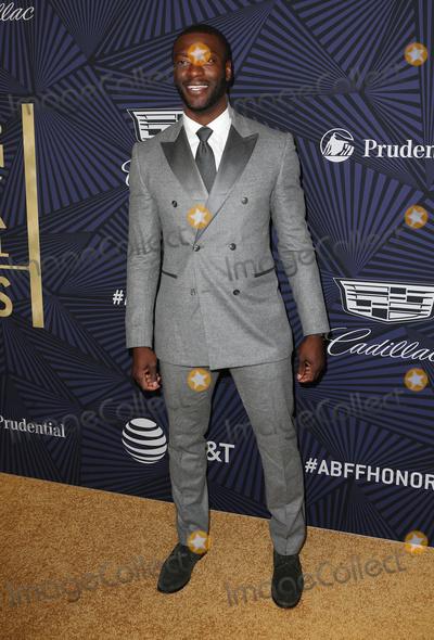 Aldis Hodges Photo - 17 February 2017 - Beverly Hills California - Aldis Hodge BET 2017 American Black Film Festival Honors Awards held at The Beverly Hilton Hotel Photo Credit AdMedia