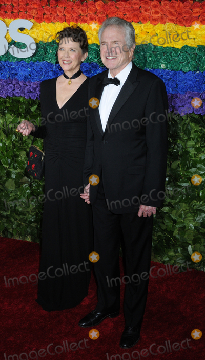 Annette Bening Photo - 09 June 2019 - New York NY - Annette Bening and Warren Beatty 73rd Annual Tony Awards 2019 held at Radio City Music Hall in Rockefeller Center Photo Credit LJ FotosAdMedia
