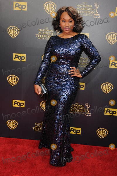 Angell Conwell Photo - 26 April 2015 - Burbank California - Angell Conwell The 42nd Annual Daytime Emmy Awards - Arrivals held at Warner Bros Studios Photo Credit Byron PurvisAdMedia
